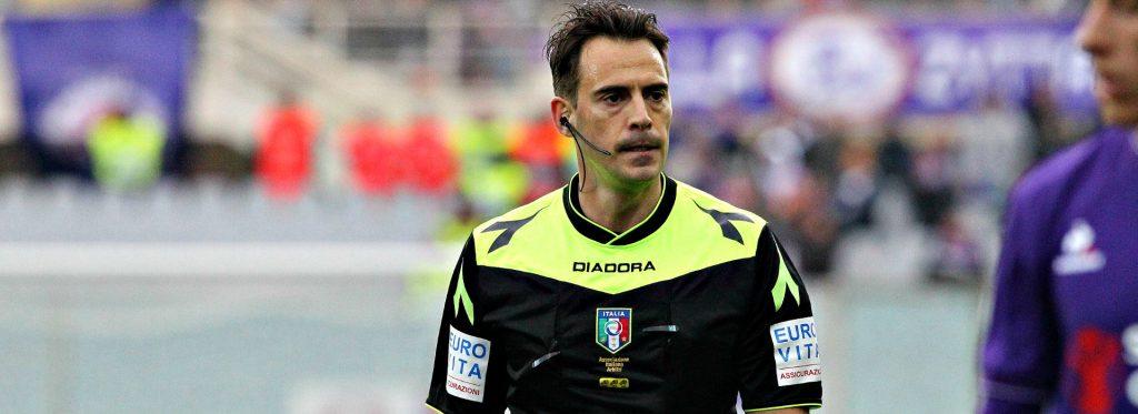 claudio gavillucci sampdoria-sassuolo arbitro