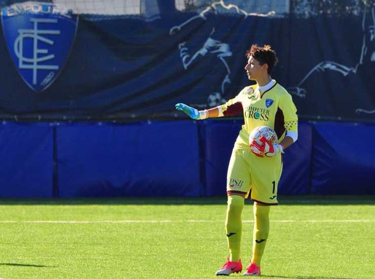 Silvia Vicenzi in campo Empoli Ladies