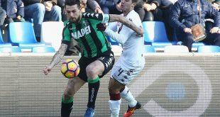 FINALE Sassuolo-Torino 1-1: una prodezza di Berardi regala il pareggio ai neroverdi