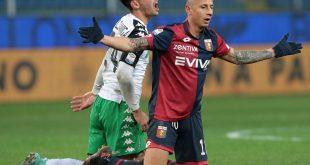 Genoa-Sassuolo 1-0: striscia positiva interrotta, la prima vera sconfitta di Iachini