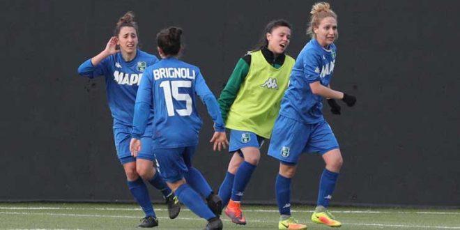 Sassuolo Femminile: buon punto allo stadio Olivieri di Verona