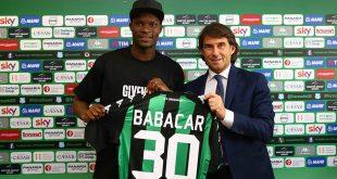 "Babacar si presenta: ""Sassuolo, voliamo insieme"""