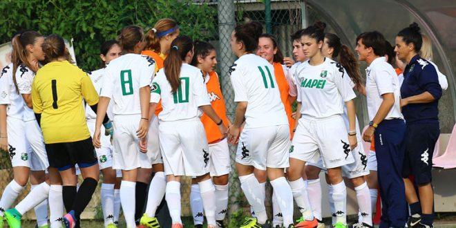 Sassuolo Femminile: due cinquine di gol delle Primavera per sbarazzarsi di Bologna e Castelvecchio