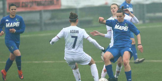 Serie A: il Sassuolo Femminile non passa a Firenze, finisce 2-0