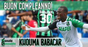 Auguri a Khouma Babacar, oggi 25enne!