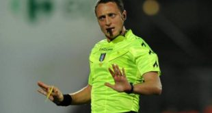 Coppa Italia: Sassuolo-Spezia sarà arbitrata da Abisso