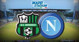 Cambia l'orario per Sassuolo-Napoli, si giocherà alle 18