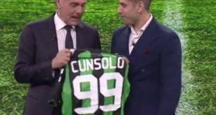 Il Sassuolo accoglie Filippo Cunsolo, vittima del calcio marcio