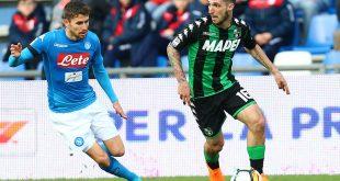 Il Sassuolo fa la partita della vita contro il Napoli
