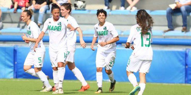 Playout di Serie A Femminile: il Sassuolo affronterà la Roma domenica 27 Maggio