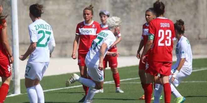 Serie A: Sassuolo Femminile cade in terra pugliese nell'ultima giornata di campionato
