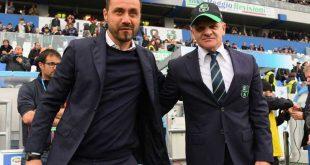 Oggi si decide l'allenatore del Sassuolo: Iachini o De Zerbi?