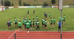 Allenamento per il Sassuolo, domani amichevole contro il Real Vicenza