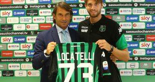 """Sassuolo, ecco Locatelli: """"Apro un nuovo capitolo della carriera"""""""