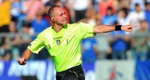 Inter-Sassuolo, l'arbitro sarà Luca Pairetto