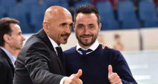 Sassuolo, visita di Luciano Spalletti alla squadra nella giornata di mercoledì