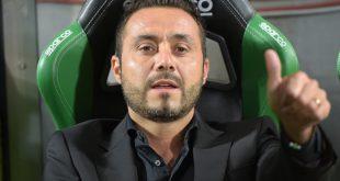"""Sampdoria-Sassuolo, De Zerbi: """"Andremo a Genova senza farci condizionare da niente"""""""