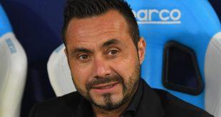 """De Zerbi dopo Sassuolo-Lazio 1-1: """"Abbiamo cercato di comandare. Accontentarsi sarebbe riduttivo"""""""