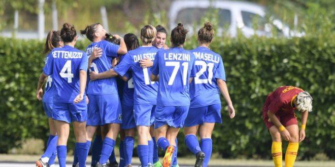 Femminile: Sassuolo-Roma 3-2, buona la prima!!!