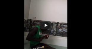 VIDEO: El hombre del partido e il ballerino nella vasca