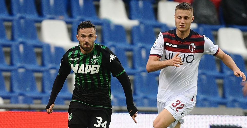 Sassuolo-Bologna 2-2
