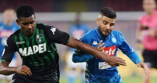 Napoli-Sassuolo 2-0: prestazione inconsistente, ma bisogna ritrovarsi
