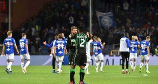 Il Tabellino di Sampdoria-Sassuolo 0-0