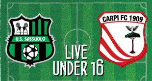 Live Under 16 Sassuolo-Carpi