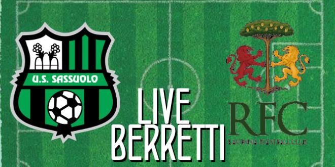 Live Berretti Sassuolo-Ravenna