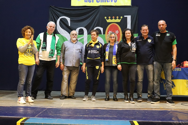 Gemellaggio Club Sasol e tifosi del Chievo