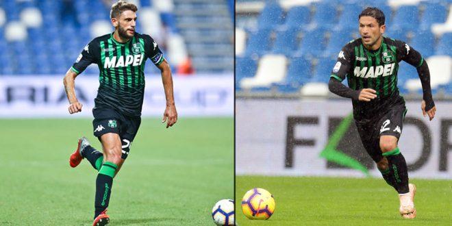 Domenico Berardi e Stefano Sensi