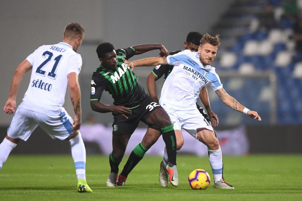 Sassuolo-Lazio 1-1
