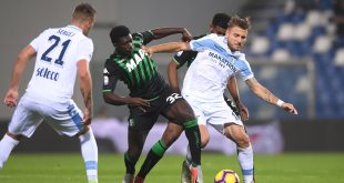 live lazio-sassuolo Sassuolo-Lazio 1-1
