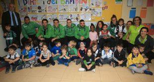 """I giocatori del Sassuolo a pranzo con i bambini della Scuola d'Infanzia """"Don Milani"""""""