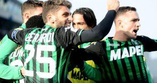Classifica Serie A anno solare 2018: Sassuolo all'undicesimo posto