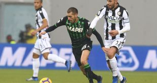 Focus on Udinese-Sassuolo: precedenti, curiosità e gli highlights dell'andata