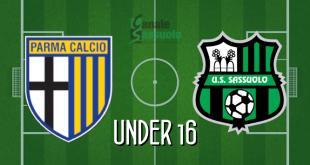 Diretta Under 16 Parma-Sassuolo