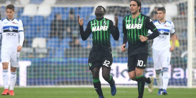 sassuolo-atalanta 2-6