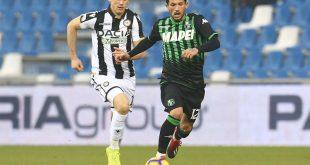 Verso Udinese-Sassuolo: le probabili formazioni