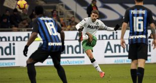 Serie A, il Sassuolo ospita l'Inter nel primo anticipo della nona giornata