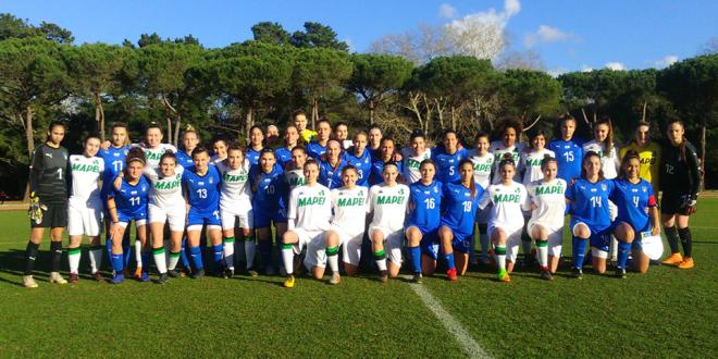Primavera femminile : ottimo pareggio con l'Inter e poi avversarie delle azzurre under 16