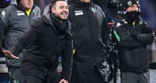 roberto de zerbi Sassuolo allenatore