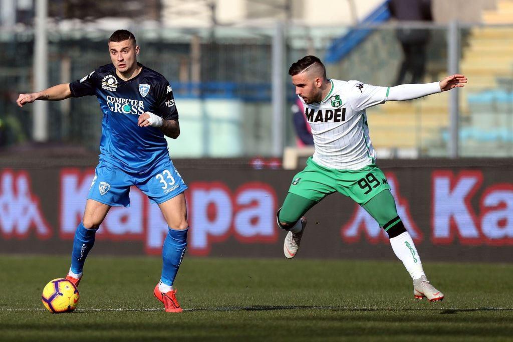 Empoli-Sassuolo 3-0