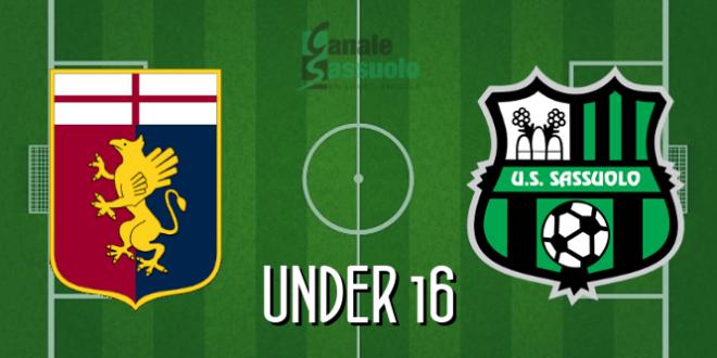 Diretta Under 16 Genoa-Sassuolo