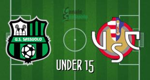 Diretta Under 15 Sassuolo-Cremonese