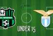 FINALE Under 15 Sassuolo-Lazio 3-1: i 2004 tornano alla vittoria