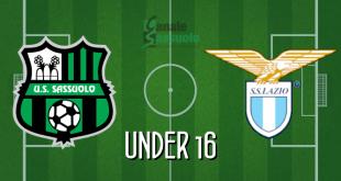 Diretta Under 16 Sassuolo-Lazio