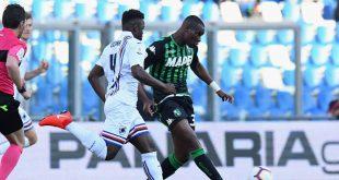 I numeri di Sassuolo-Sampdoria 3-5: montagne russe neroverdi