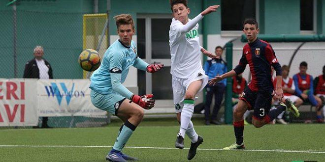 Il Sassuolo Under 18 ripreso dal Genoa: il recupero ad Arenzano finisce 1-1