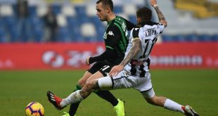 FINALE Udinese-Sassuolo 1-1